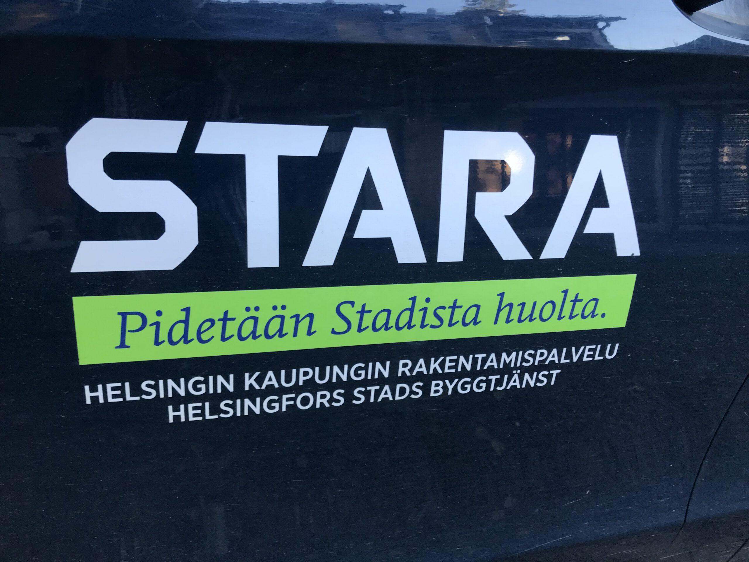 Kuva, jossa on Staran logo